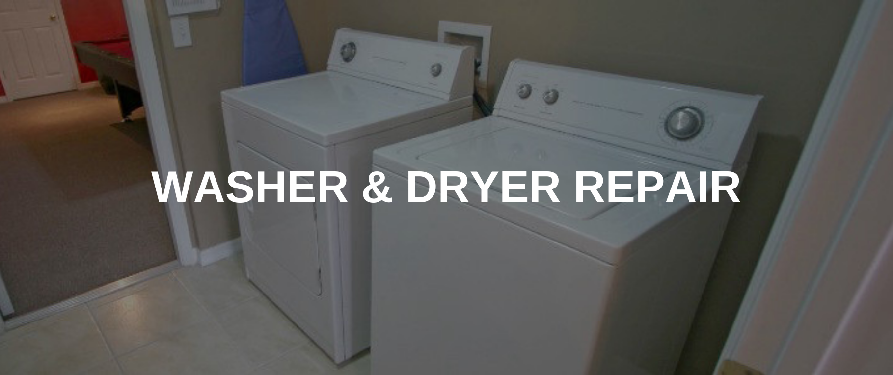 washing machine repair vernon