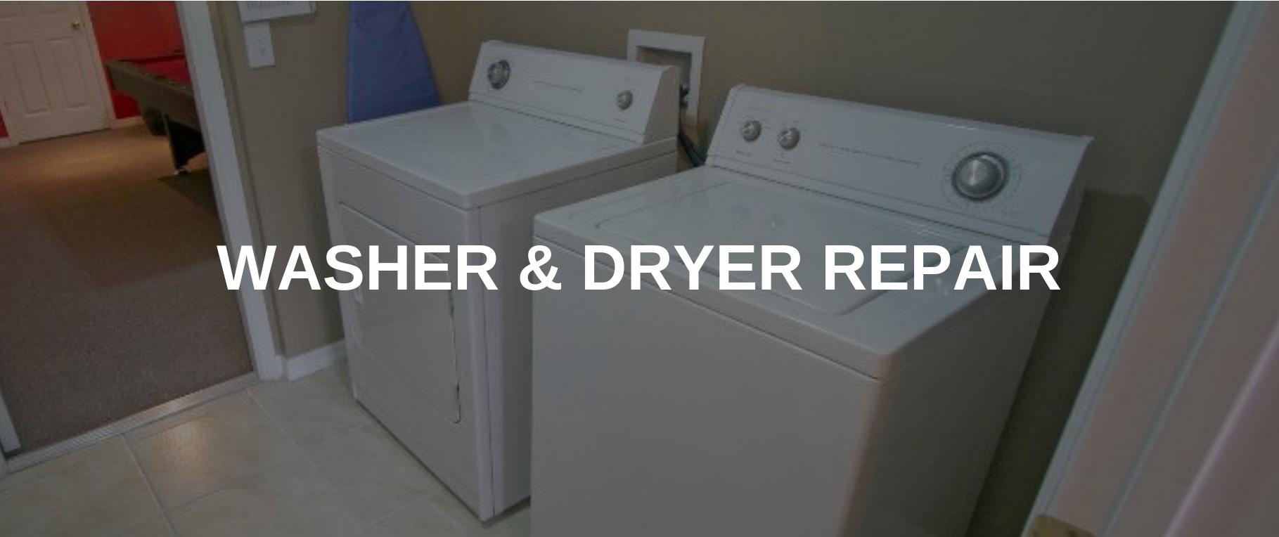washing machine repair vernon